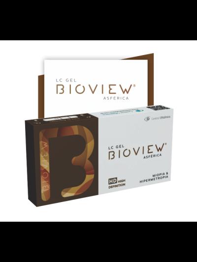 Lente de contato Bioview Asférica Miopia e Hipermetropia